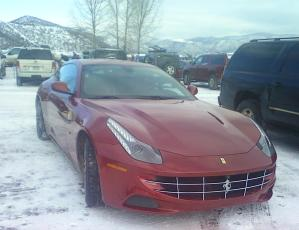 ferrari at buttermilk aspen