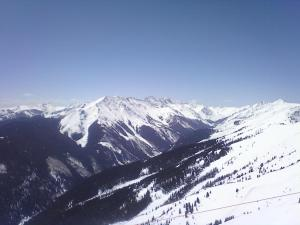 Highlands bowl view 4-27-13