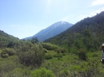 Mt Sopris from Perham Creek trail