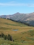 West Maroon Pass looking to Crested Butte