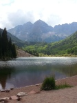 Maroon Lake and the Bells