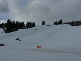 Double Pipe under construction