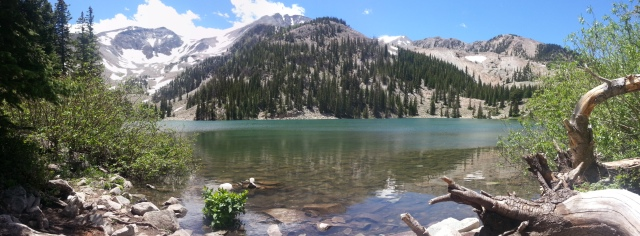 Second Thomas Lakes Lake