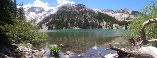 Second Thomas Lakes Lake