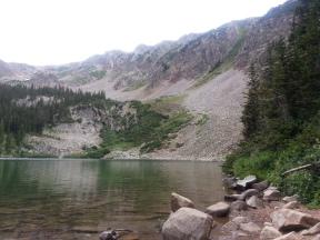 American Lake edge