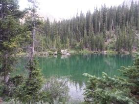 American Lake from trailhead end