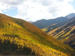 Back side Aspen Mountain