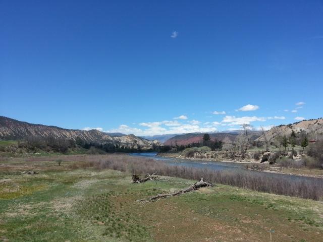 Roaring Fork Valley from Aspen Glen
