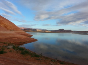 Lake Powell camp Memorial Day Weekend 2015