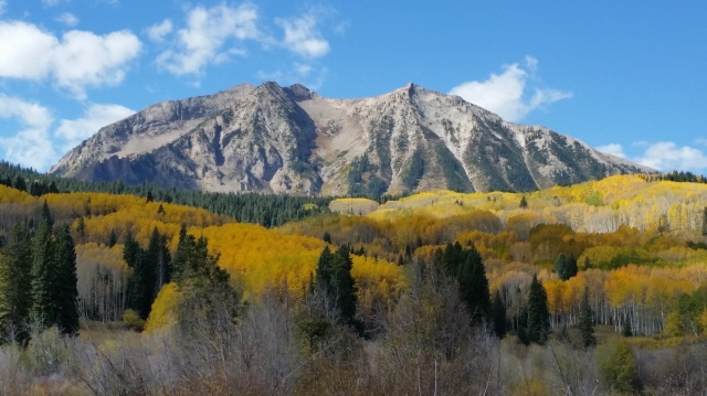 Kebler pass fall colours