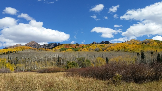 Kebler Pass in Fall